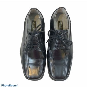 Brand New Boys Stacy Adams Lace Up Dress Shoes